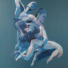 Michael_Milburn_Foster_Beatrix_and_Zsusa_dancing_8_huile_sur_toile_100x73cm_2014