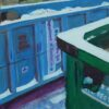 12 Green and Blue Dumpsters II (NYC Recycles)