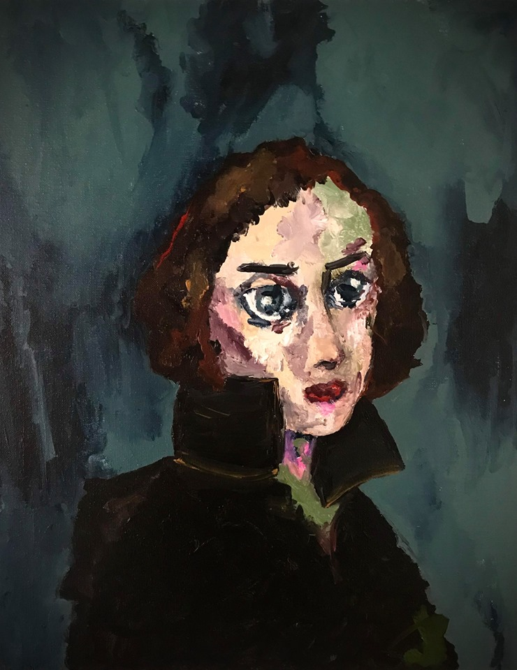 The froggy girl   € 700,00